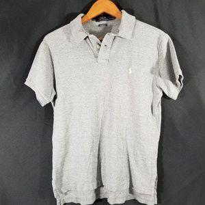 Men's Polo Ralph Lauren size Medium Gray Polo